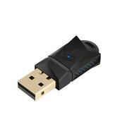 ROCKETEK RT-WL3AT Mini 600 Mbps Çift bant 2.4G 5.8G Wi-Fi USB Adaptörü Alıcı Kablosuz Ağ Adaptörü Harici Wifi Adaptörü Kablosuz USB WLAN Adaptörü