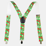 Christmas Old Man Strap Clip 3.5cm de largura Suspender Cinto