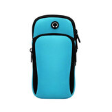 6inch Phone Sport Armband Case Waterproof Running Gym Touch Screen Phone Bag