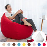NESLOTH 90 * 110cm Soft Bean Bag Chairs Couch Sofa Cover Indoor Lazy Sofa for Adults