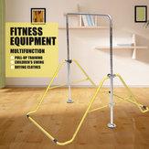 Equipamentos de fitness Em Aço Inoxidável Ginástica Ajustável Barra Horizontal Eixo Kip Bar Set Escalada Torre Ginásio
