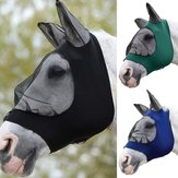 Full Face Anti UV Anti Fly Horse Mask Ear Cover Armour Mesh