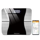 SONGYING bluetooth Smart Body Fat Scale USB Rechargeable APP Data LED Display Fitness Yoga Tools Scale