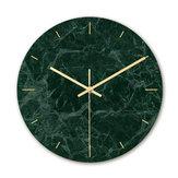Loskii CC008 Creative Marble Шаблон Стена Часы Mute Стена Часы Кварц Стена Часы Для домашнего офиса Украшения