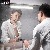 OneFireB110-120LEDليلةمجلسالوزراء المغناطيسي ضوء جسم الإنسان القابل للإزالة المستشعر مصباح للمطبخ مجلس الوزراء السرير من Xiaomi Youpin