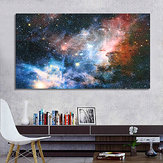 Ungerahmt 43 x 24 Zoll Space Galaxy Universe Planet Poster Stoff Seiden Gemälde Wand Print Art Home Decor