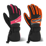 Winter Thermal Electric Warm beheizte Heizhandschuhe Mitten Ski Waterproof Sport