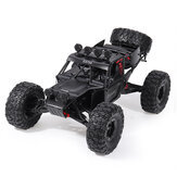 Eachine EAT04 1/12 2.4G 4WD Brush Rc Car Metal Body Shell Shell Desert Off-road Truck RTR Toy Black