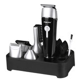 5 in 1 Electric Hair Clipper Rechargeable Barber Mustache Nose Beard Trimmer Hair Cutting Kit