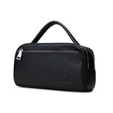 Men Fashion Large Capacity Business Leather Briefcase Handba