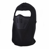 Outdoor Cycling Hood Hat Windproof Fleece Cap Warm Bib Face Mask