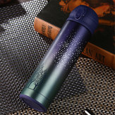 Bakeey 500ml Elastic Force Cover Vacuum Stainless 304 Steel Insulated Cup for Boys and Girls Water Cup