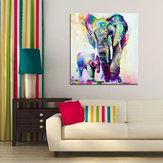 Miico Handgeschilderde olieverfschilderijen Animal Elephant Paintings Wall Art For Home Decoration