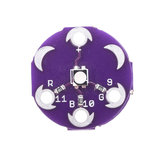 30pcs LilyPad Tri-Color LED RGB Module LilyPad LED Board Tri-color Module