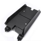 Ispessimento a quattro ruote tipo H ABS Staffa host monitor computer desktop rimovibile e regolabile con freno