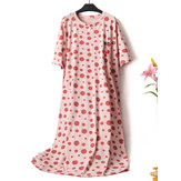 Plus Size Print Nightgown