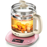 Bear YSH-B18W2 Mini Automatic Thickened Glass Multi-Functional Electric Kettle Curing Pot Household Teapot