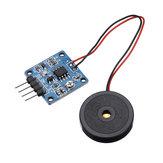 3pcs TZT 5V Modulo interruttore sensore di vibrazione a pellicola piezoelettrica Uscita livello TTL Geekcreit per Arduino - prodotti che funzionano con schede Arduino ufficiali