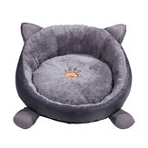 Peluche Soft Warm Dog Dog Cat Sleeping Deep Bed Bed Chaise longue invernale