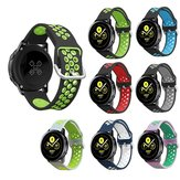 Orologio Bakeey 20mm Banda Silicone Dual Color per BW-HL1 / Galaxy Active / Amazfit Bip Lite / Amazfit Pace Youth Smart Watch
