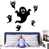 Miico FX3012 Halloween Sticker Creative Cartoon Sticker Entfernbarer Wandaufkleber - Ghost
