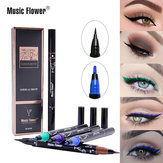 Music Flower Liquid Eyeliner Pencil Super Waterproof Black D