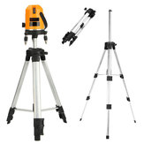 Level Tripod Holder Stand Mount Telescopic Aluminium Alloy for Self Leveling Laser