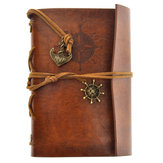 Creative retro imitation leather notebook loose-leaf traveler notebook pirate diary