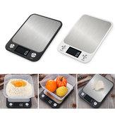 10 kg / 5 kg Escala de Cozinha Doméstica Comida Eletrônica Balança Dieta Balança Ferramenta de Medição Slim LCD Escala de Pesagem Eletrônica Digital