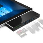 Rocketek SUR469 veya SUR569 USB Hub Kart Okuyucu 4 K HD SD TF Kart Yüzey için USB Adaptörü Pro