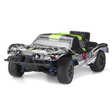 Grazer Toys 12005 1/18 2.4G 4WD 40 km / h RC Auto Het Hammer Full-Proportional Control Vehicle RTR Model