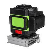 LED-Anzeige LD Grünes Licht Laser Level 3D 360 ° 12 Linien Kreuz Selbstnivellierendes Messwerkzeug