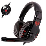 SOMiC G927 Virtual 7.1 Surround USB Gaming Headphone 2.9 Meters Long Wire Headset With Microphone for Computer Profession Gamer