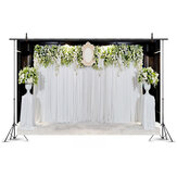 5x3FT 7x5FT 4 Types Wedding Theme Flower Photography Backdrop Background Studio Prop