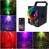 18W LED RGB Stage Projector Light Lamp DJ Club Disco Party with Remote Control