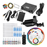 50 stks complete tattoo kit machine apparatuur voeding