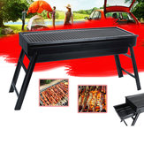 Foldable BBQ Grill Charcoal Barbecue Camping Picnic Grill Stove