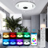 Modern Dimmable 120LED RGBW Ceiling Light bluetooth Speaker Remote/APP Control