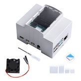 ABS Electrical Box  Injection Molding Shell of Electric Appliance for Raspberry Pi 4