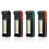 2LED+COB 400LM USB Rechargeable Foldable Car Maintenance Light Work Light LED Flashlight Power Bank