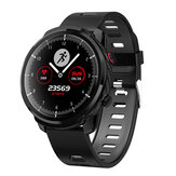 Bakeey L3S Full Touch Cardiofréquencemètre Tensiomètre Multi-sport IP68 Montre Intelligente Étanche