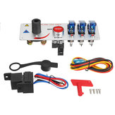 12V Auto LED tuimelschakelaar Contactschakelaar Racing motor Motor Start Push Set