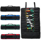 Draagbare Oxford 22 Pocket Tool Roll Spanner Wrench opvouwbare gereedschap opbergtas