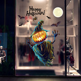 Miico XL626 Cartoon Sticker Halloween Sticker Zucca Wall Sticker Room Decoration