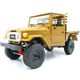 Kit desmontado WPL C44KM Metal Edition 1/16 4WD Veículos off-road de carro RC com servo motor
