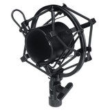 Metal Microphone Mount Mic Holder Bracket for Radio Broadcasting Studio Record Voice