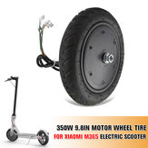 350W 9.8 Inch Motor Explosion Proof Wheels Tire for Xiaomi M365 Electric Scooter Ideal Replacement