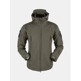 Winddichte Herren Outdoor Mantel Fleecejacke
