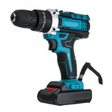 48V Cordless Impact Obeng Listrik Bor 25 + 3 Gear Forward / Reverse Switch Power Screw Driver W / 1 atau 2 Baterai Li-ion