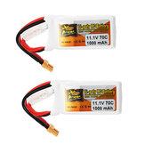2Pcs ZOP Power 11.1V 1000mAh 70C 3S Lipo البطارية XT30 Plug